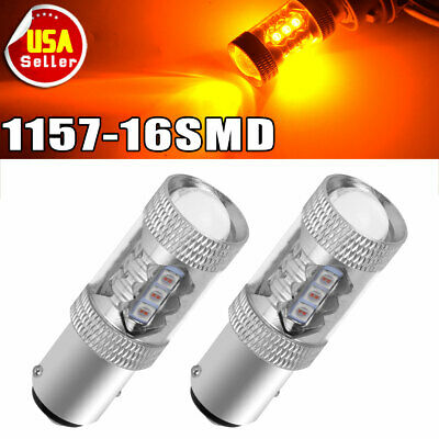 4X 3157 60SMD Pure Red LED High Power Tail Brake Stop Light bulbs 3057 3457 4157
