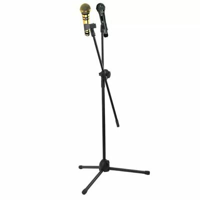 High Quality Professional Boom Microphone Mic Stand Holder Adjustable Black