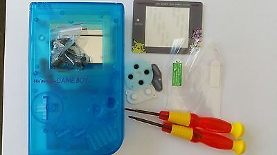 Es- Phonecaseonline Carcasa Gameboy Classic Pokemon Clear Blue Nueva