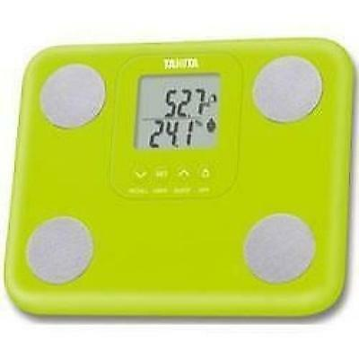 Tanita BC-730 Innerscan Body Fat Mass Composition Monitor Weighing Scales Green