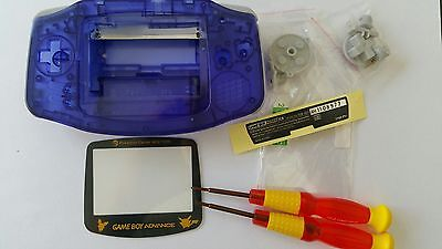 Es- Phonecaseonline Carcasa Gameboy Advance Pikachu Clear Hard Blue Nueva