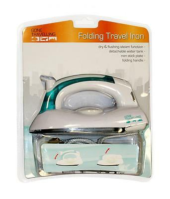 BoyzToys RY722 800W Universal Voltage Folding Travel Iron Dry & Steam Function
