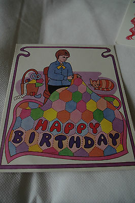 Vintage Guide birthday card