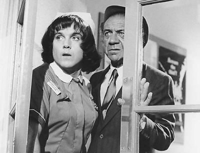 Kenneth Cope & Sid James Unsigned Photo - 38 - Carry On Matron