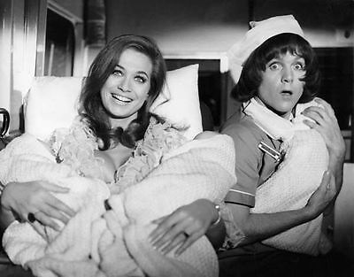 Kenneth Cope & Valerie Leon Unsigned Photo - 37 - Carry On Matron
