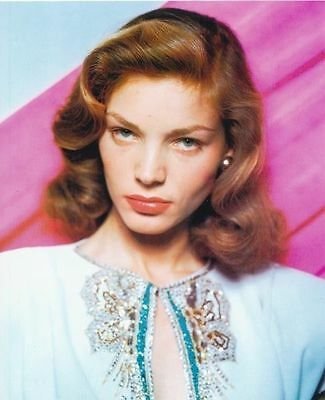 Lauren Bacall Unsigned Photo - 6087 - Gorgeous!!!!!