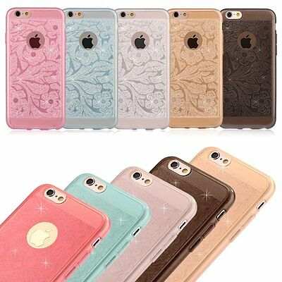 New Rubber Soft TPU Silicone Phone Case cover For Apple iPhone 6 6s 4.7 Plus