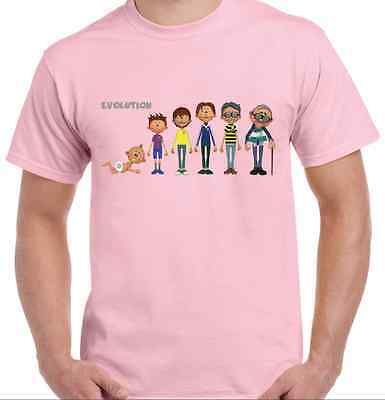 Vintage Football Evolution T-Shirt -Pink - Choose Your Own Kits - Non Uk Teams