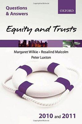 Q&A Equity and Trusts 2010 and 2011 (Law Questions & Answers) By Margar