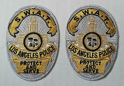 LOS ANGELES Police SWAT S.W.A.T. 2 NEW Shoulder Patch