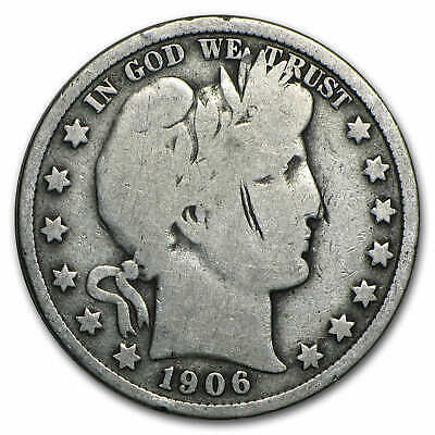 90% Silver Barber Half Dollars - $10 Face Value Roll - Good or Better