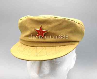 Chinese War Army Military Officer M-1950 Type 50 Cotton Hat Cap L