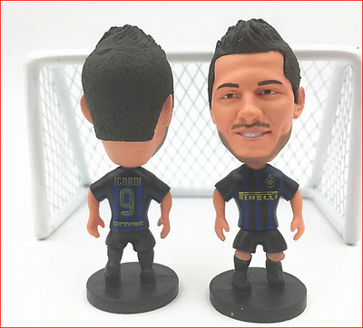 Statuina MAURO ICARDI #9  FC INTER football action figure  7 cm