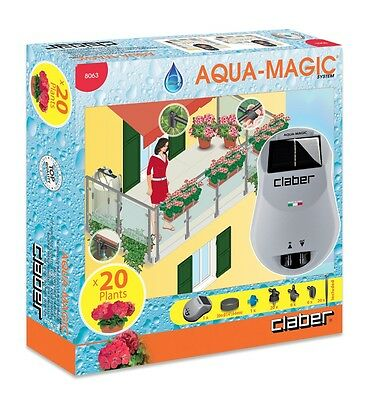 Aqua magic Solar Powered Watering System for patios and borders