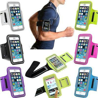 Sports Running Jogging Gym Armband Arm Band Case Cover Holder For iPhone5 5s SE