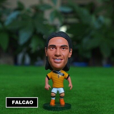 Statuina RADAMEL FALCAO #9 COLOMBIA football action figure 7 cm