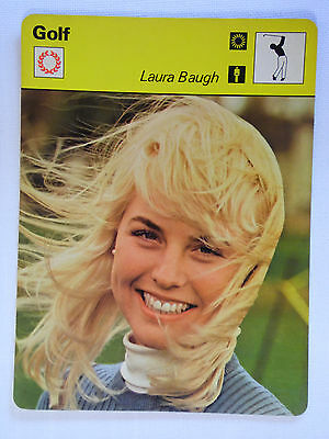 Sportscaster Rencontre Card - Golf - Laura Baugh