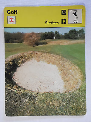 Sportscaster Rencontre Card - Golf - Bunkers