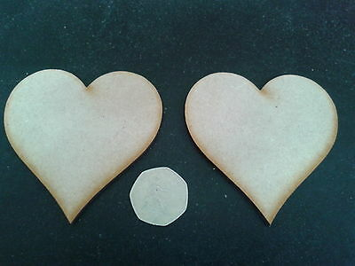 Sweet Table with Hearts and stand Wooden 4mm MDF Laser Cut
