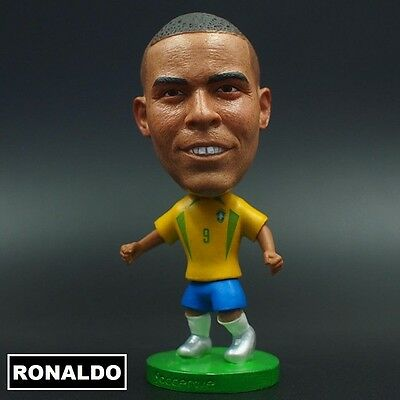 Statuina RONALDO #9 BRAZIL football action figure 7 cm