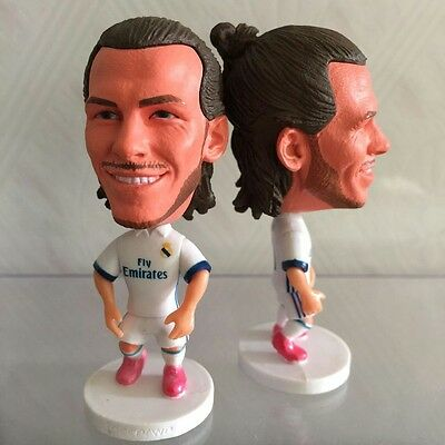 Statuina GARETH BALE #11 REAL MADRID 2017 football action figures 7cm futbolista