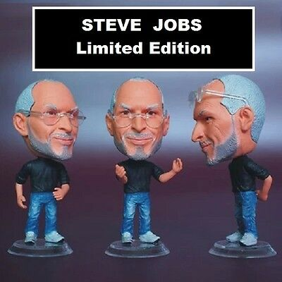 Statuina iJobs APPLE STEVE JOBS doll action figure 7 cm ipad iwatch iphone ipod