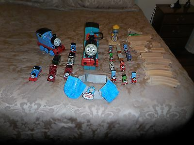 Thomas the Train and Friends, Metal Train Cars, Carrying Case,Track,48 pieces