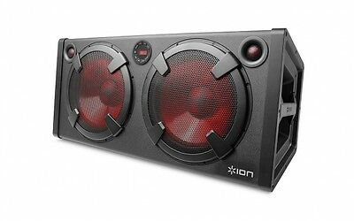 NEW ION Road Warrior 500 Watt Rechargeable Bluetooth Speaker System