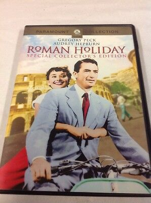 Roman Holiday (DVD, 1953, Collector's Edition) Audrey Hepburn, Gregory Peck