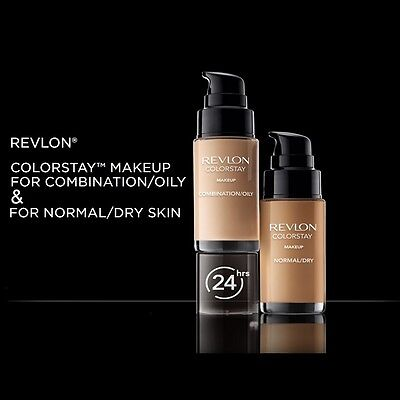 Revlon Colorstay Foundation New Pump Applicator For Comb/oily Or Normal/dry Skin