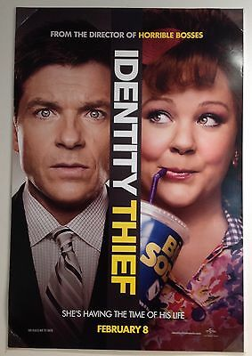 "Identity Thief...original Double Sided 27"" X 40"" One Sheet Movie Poster"
