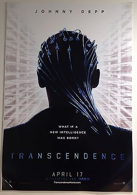 "Transcendence... Original Double Sided 27"" X 40"" One Sheet Movie Poster"