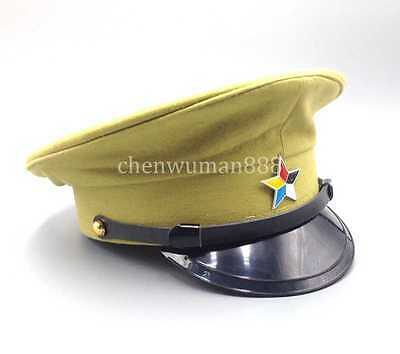 Ww2 Chinese Puppet Military Army Field Traitor Hat Imperial Cap L