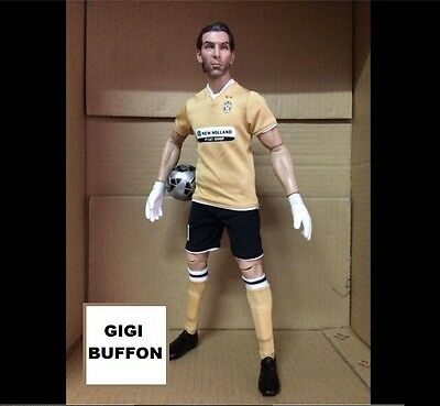realistic GIALUIGI BUFFON JUVENTUS doll BIG football action figure 1/6 scale