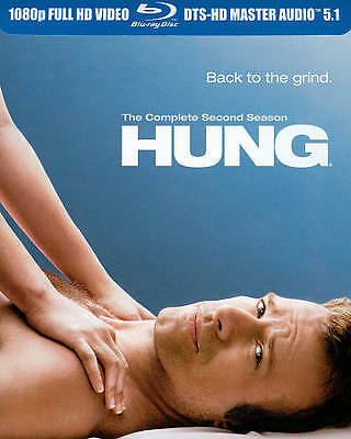 Hung: The Complete Second Season (Blu-ray Disc, 2011, 2-Disc Set) Comedy/Sealed!