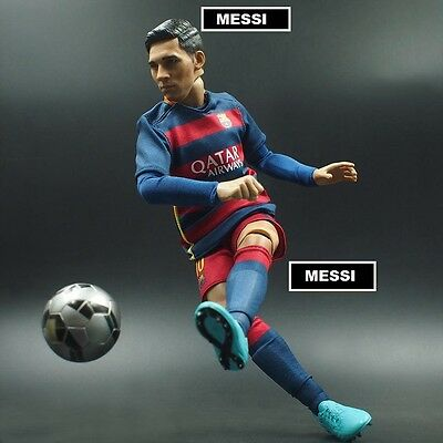 doll LIONEL MESSI #10 BARCA 2016 LA LIGA 1/6 scale football action figure toy