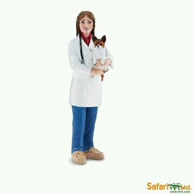FREE SHIPPING | Safari Ltd. 226429  Jenny the Veterinarian Toy- New in Package