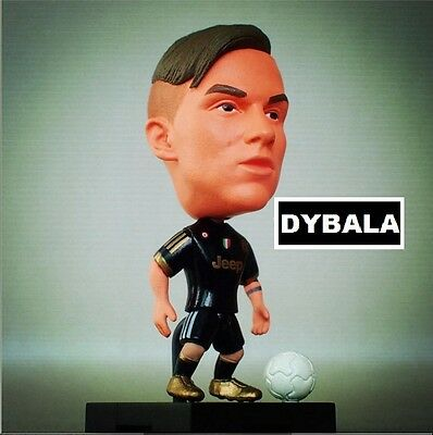 Statuina PAULO DYBALA #21 JUVENTUS doll football action figure 7 cm Movable