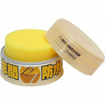 Soft99 Fusso Coat 12 Months Wax Light Solid Japan Car Auto Care Wash Protect