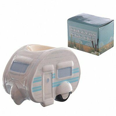 Ted Smith Ceramic Caravan Egg Cup