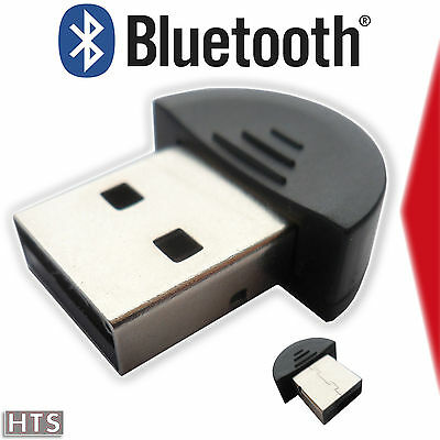 Clé USB Bluetooth V2.0 (Mini Dongle, Clef, Adaptateur pour XP, Windows 7, 8, 10)