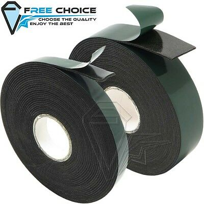 Strong Double Sided Foam Tape Black Self Adhesive Permanent Car Trim Badge Body