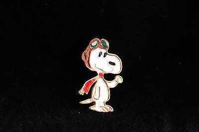 Vintage Pin - United Features Aviation Snoopy - Peanuts
