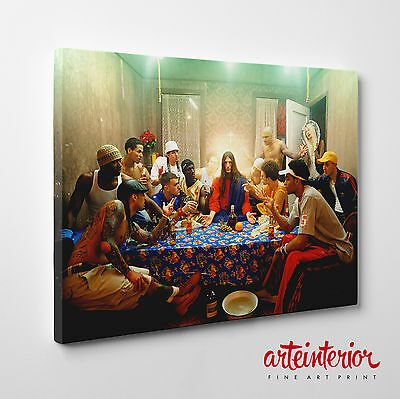 David LaChapelle - ULTIMA CENA (Last supper) Stampa fotografica FINE ART su tela