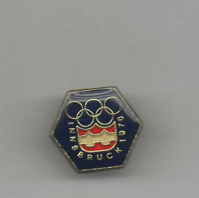 Orig.PIN  Olympic Winter Games INNSBRUCK 1976  -  Official Logo  !!  VERY RARE