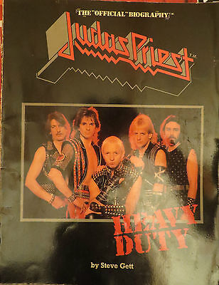 Judas Priest: Heavy Dutty (The Official Biography) English Book