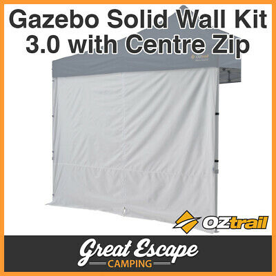 1 x Oztrail Gazebo Solid Wall 3.0 m Centre Zip