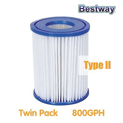 NEW Bestway Cartridge Filter for Above Ground Swimming Pool 800 gal/h Pump 58094