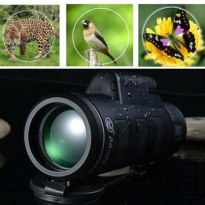 Day & Night Vision 40x60 HD Optical Monocular Hunting Camping Hiking Telescope B