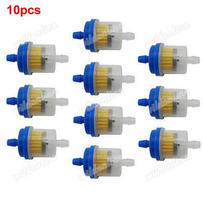10x Inline Magnetic Fuel Filter For Chinese ATV Quad 50cc-160cc Pit Dirt Bike